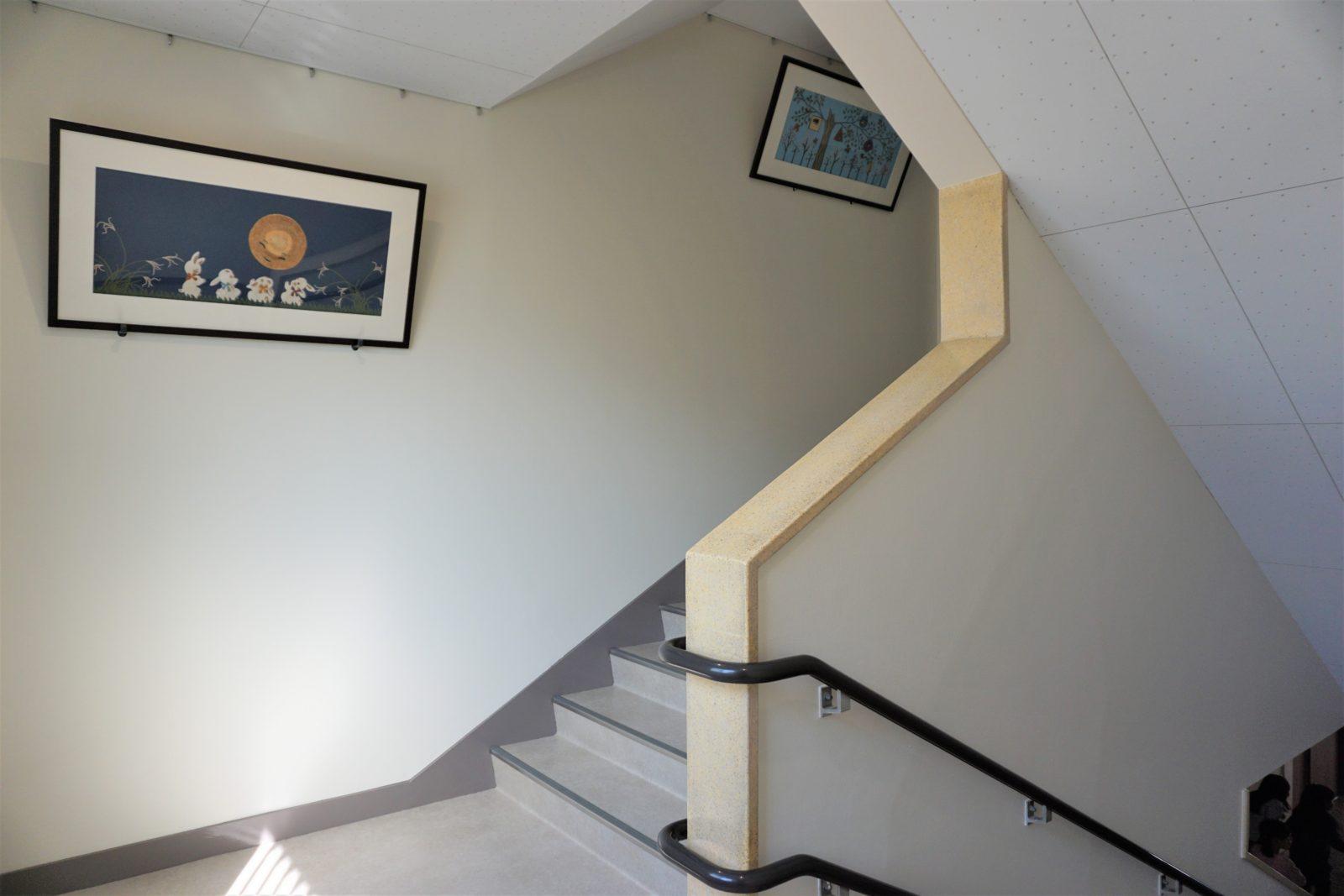 安全で明るい階段へとリフォーム