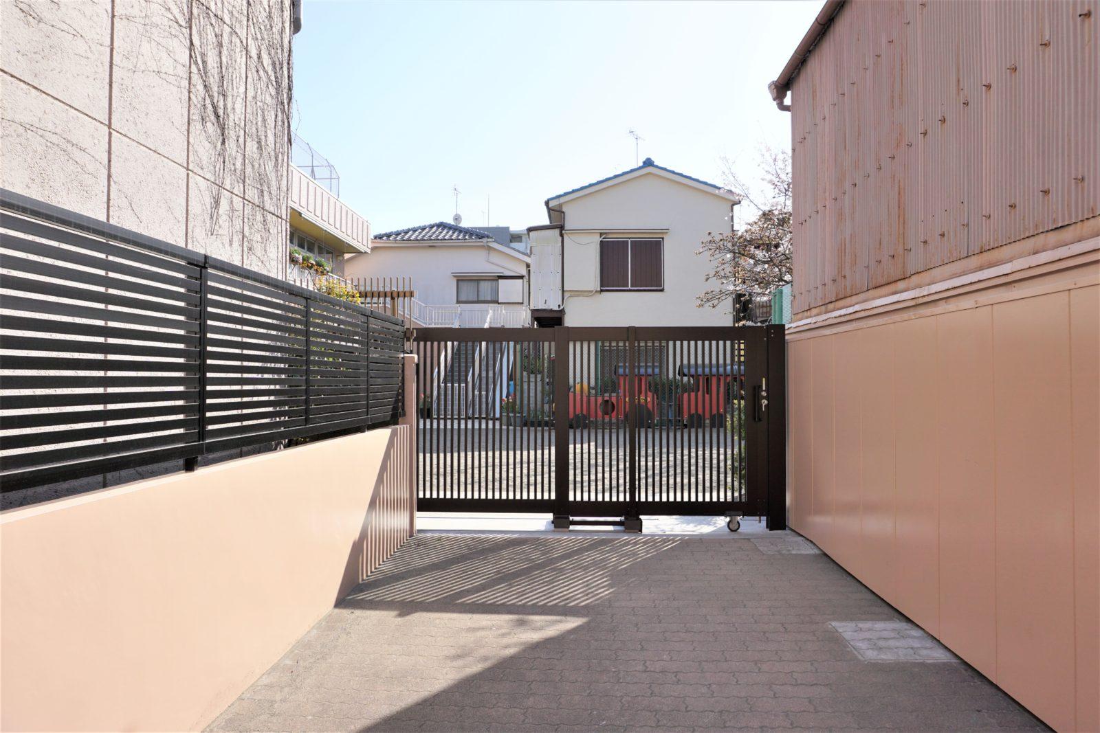 危険なブロック塀から安全なフェンスへとリフォーム