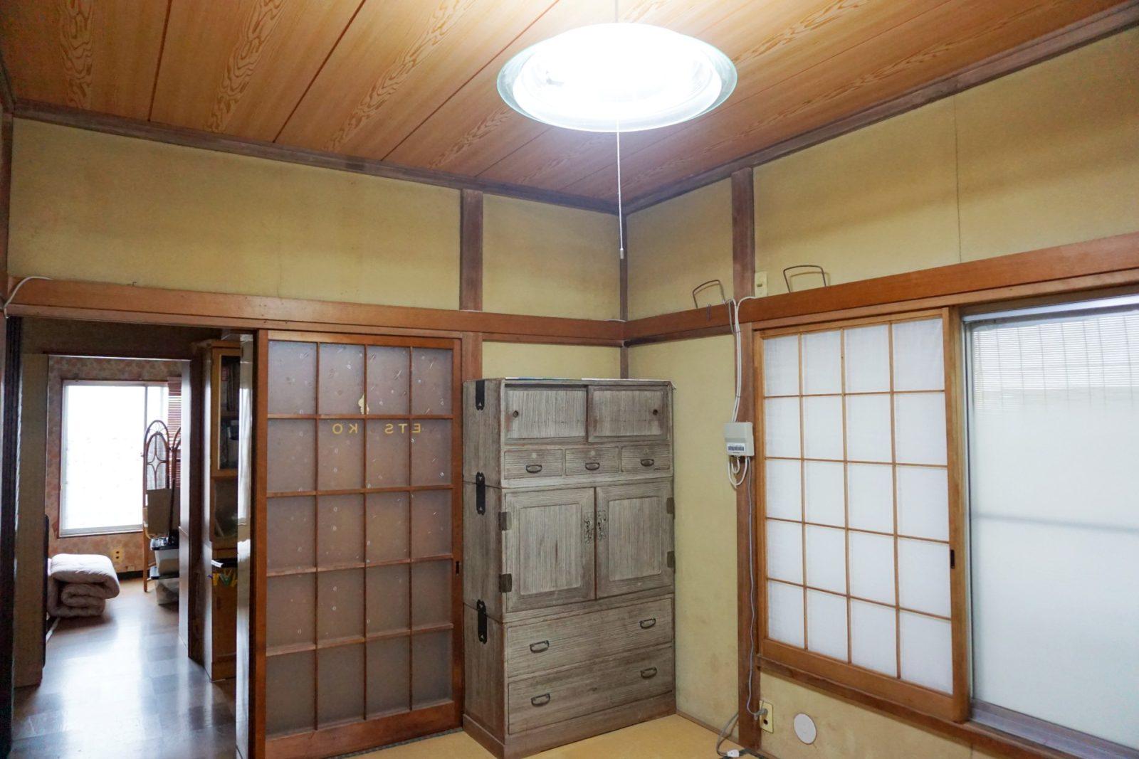 天井下地補強・張替工事(保険対象)