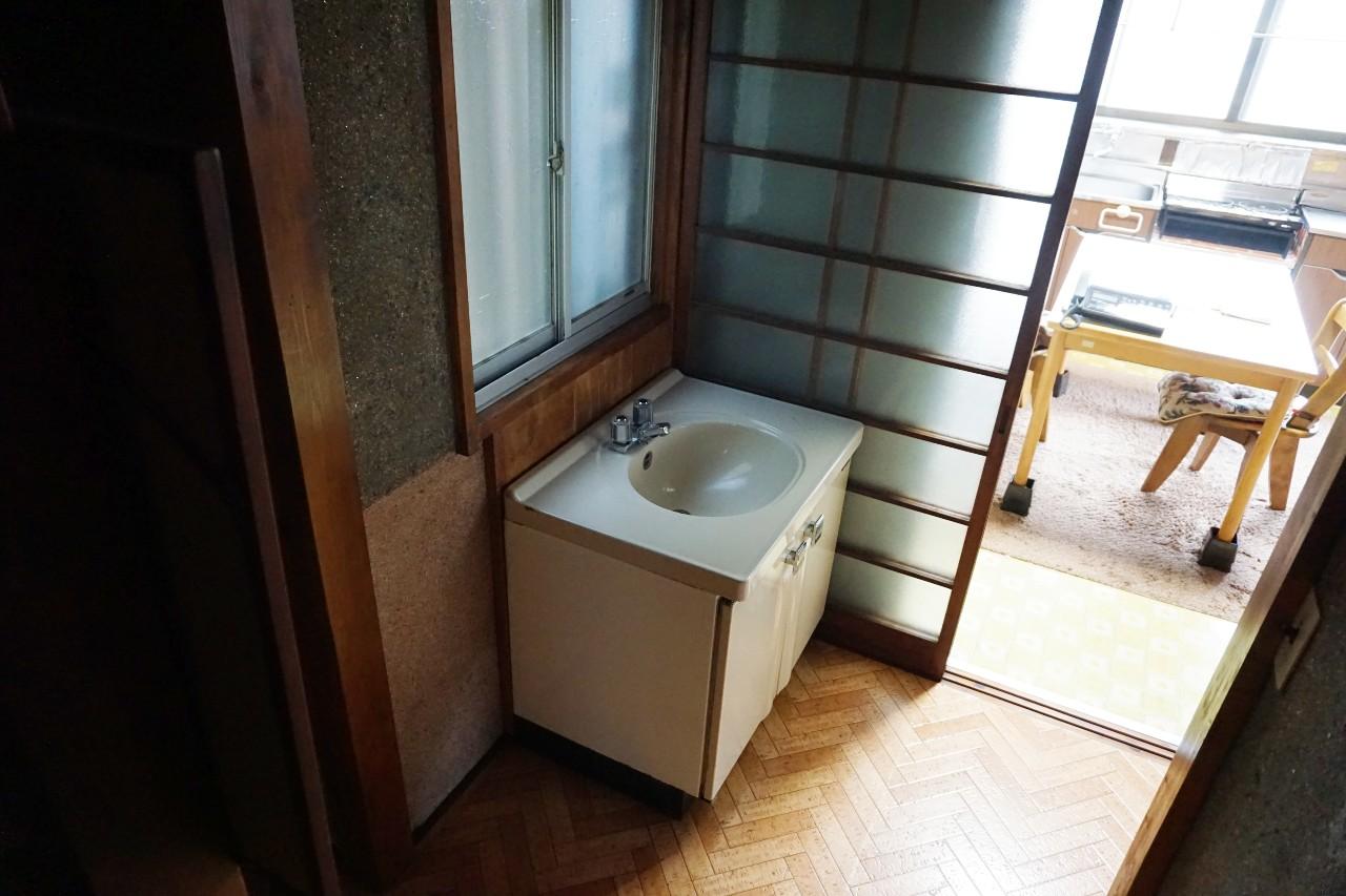 【ビフォー】before洗面所