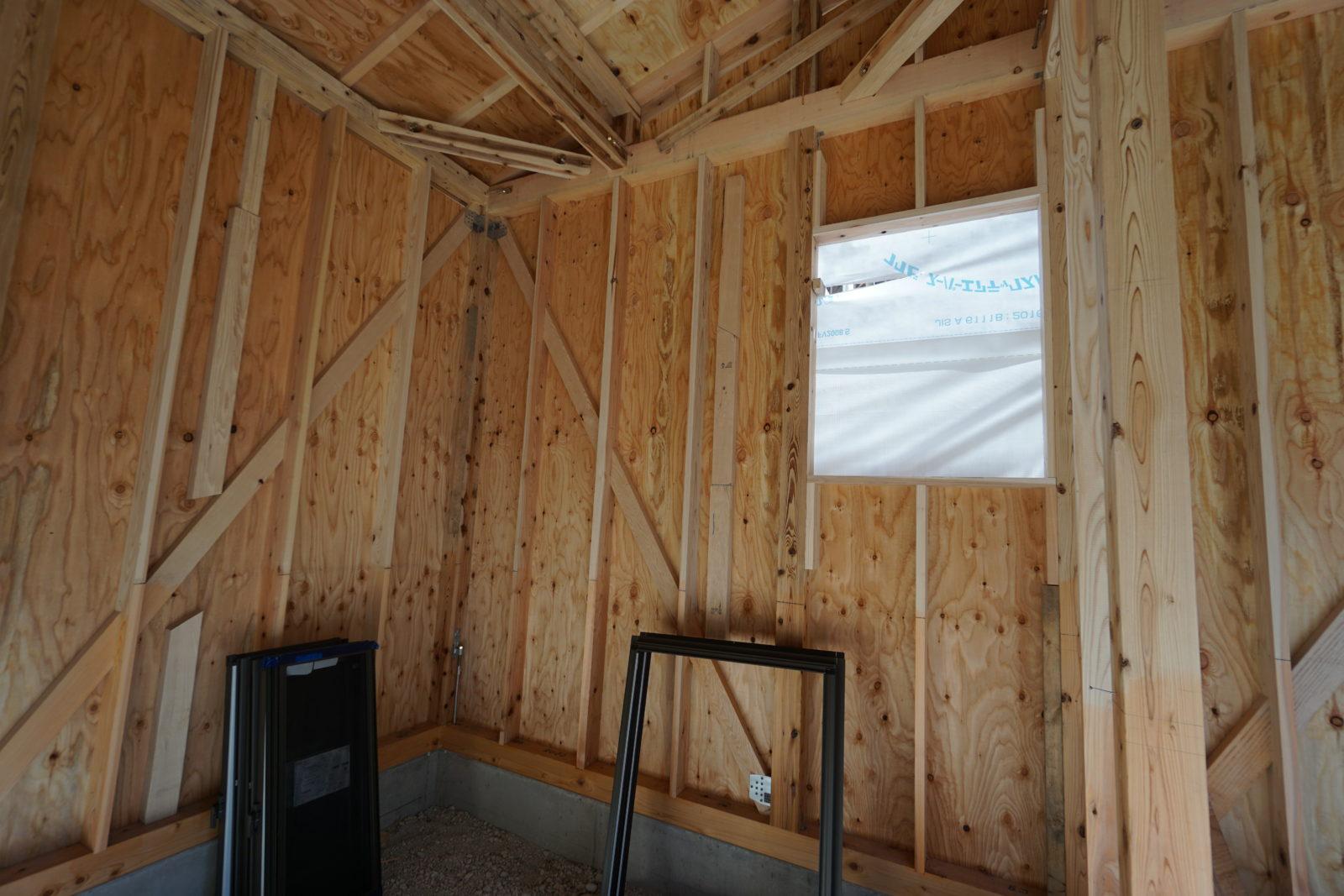 新築平屋建て 倉庫